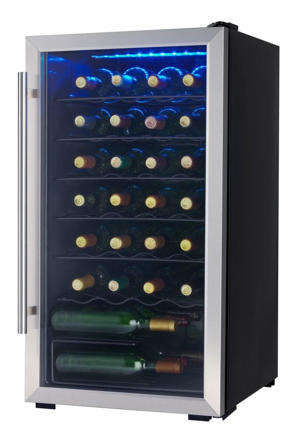 Dwc310blsdd Danby Designer 30 Bottle Wine Cooler En