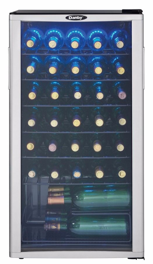 Dwc350blp Danby 35 Bottle Wine Cooler En