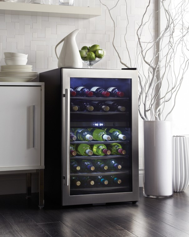Dwc040a3bssdd Danby Designer 38 Bottle Wine Cooler En