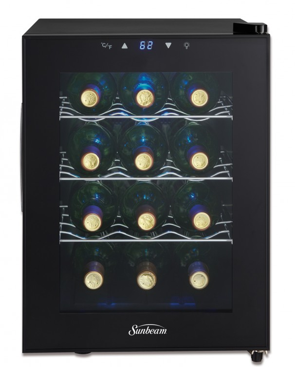 Sbwc011a1b Sunbeam 1 17 Cu Ft Wine Cooler En