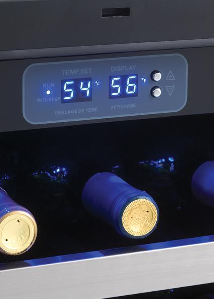 Dwc458bls Danby Designer 45 Bottle Wine Cooler En