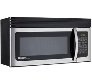 Danby Designer 1.6  Microwave - DOM161KBLSDD