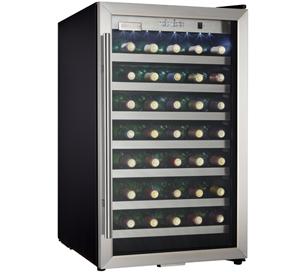 Danby Designer 45  Wine Cooler - DWC123BLSDD