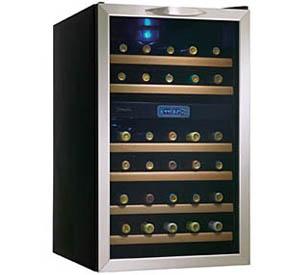 Dwc283bls Danby Designer 30 Wine Cooler En