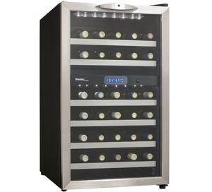 Dwc286bls Danby Designer 38 Wine Cooler En