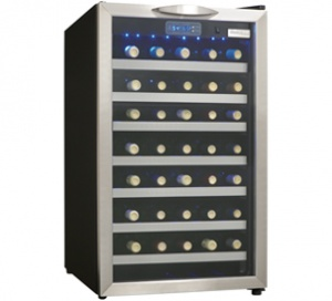 Danby Designer 45 Bottle Wine Cooler - DWC458BLS