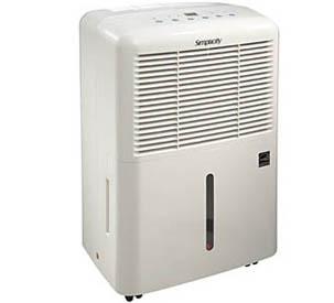 Simplicity 30 BTU Dehumidifier - SDR307EE