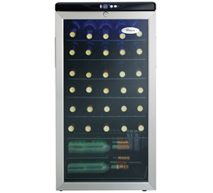 Whirlpool 3.3  Wine Cooler - WWC359BLS