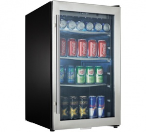 Danby Designer 124 (355mL) Can Capacity Beverage Center - DBC434A1BSSDD