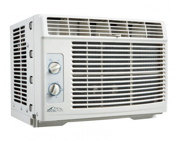 Quietest Room Air Conditioner AAC050MB1G | ArcticAire 5000 BTU Window Air Conditioner | EN