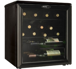 Danby Designer 17 Bottle Wine Cooler - DWC172BL