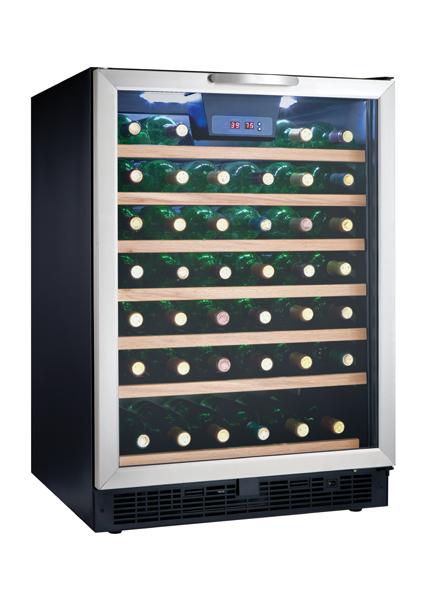 Danby Designer 50 Bottle Wine Cooler  sc 1 st  Danby & DWC508BLS | Danby Designer 50 Bottle Wine Cooler | EN