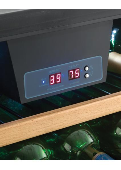 Dwc508bls Danby Designer 50 Bottle Wine Cooler En