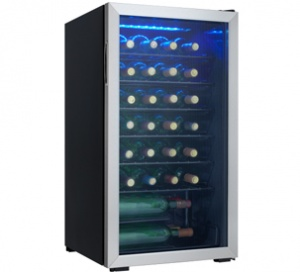 Dwc93blsdb Danby 36 Bottle Wine Cooler En