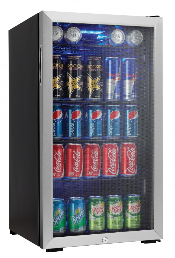 Danby 120 Canettes Capacités (355mL) Refroidisseurs de boisson - DBC120CBLS