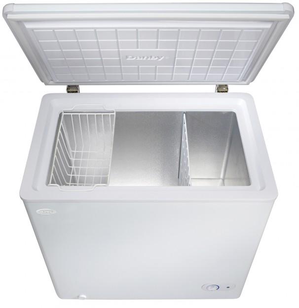 DCF550W1 | Danby 5.5 cu. ft. Freezer | EN-US