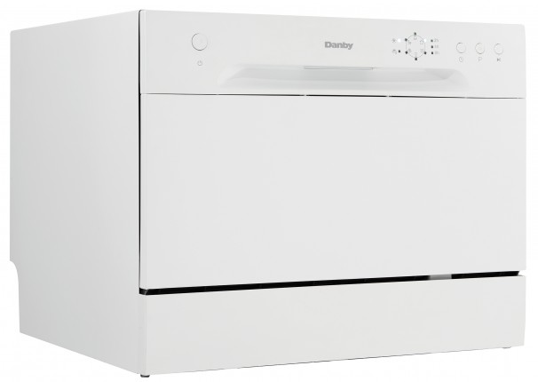 Danby 6 Place Setting Countertop Dishwasher - DDW621WDB