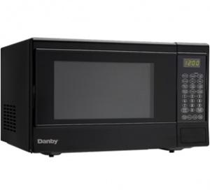 Danby 1.4  cu ft. Black Sensor Countertop Microwave - DMW14SA1BDB