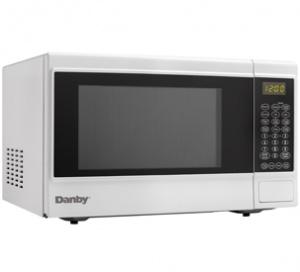 Danby 1.4  cu ft. White Sensor Countertop Microwave - DMW14SA1WDB