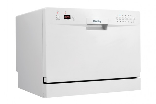 Countertop Dishwasher Size : DDW611WLED Danby 6 Place Setting Dishwasher EN
