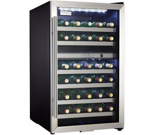 Danby Designer 38 Bouteille Refroidisseurs à vin - DWC114BLSDD