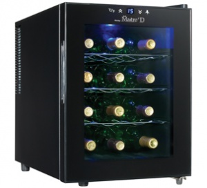 Maitre'D 12  Wine Cooler - DWC1233BL-SC