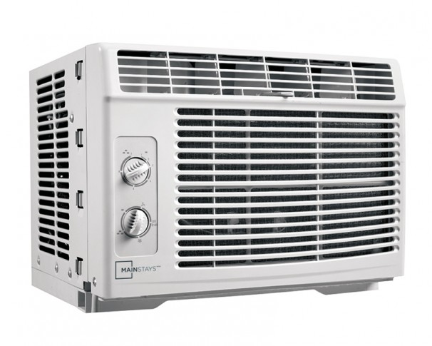 Mac050mb1g mainstays 5000 btu window air conditioner en for 12 inch high window air conditioner