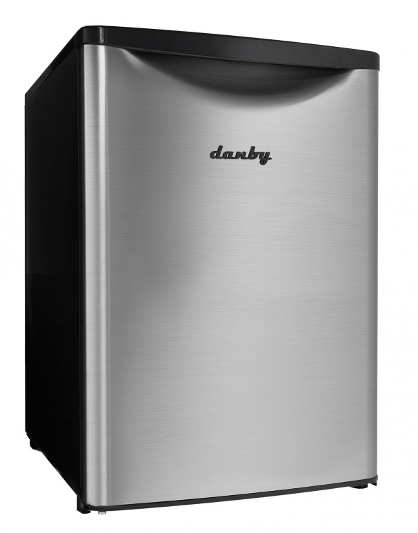 Danby 2.6 Cu.ft Contemporary Classic Compact Refrigerator - DAR026A2BSLDB