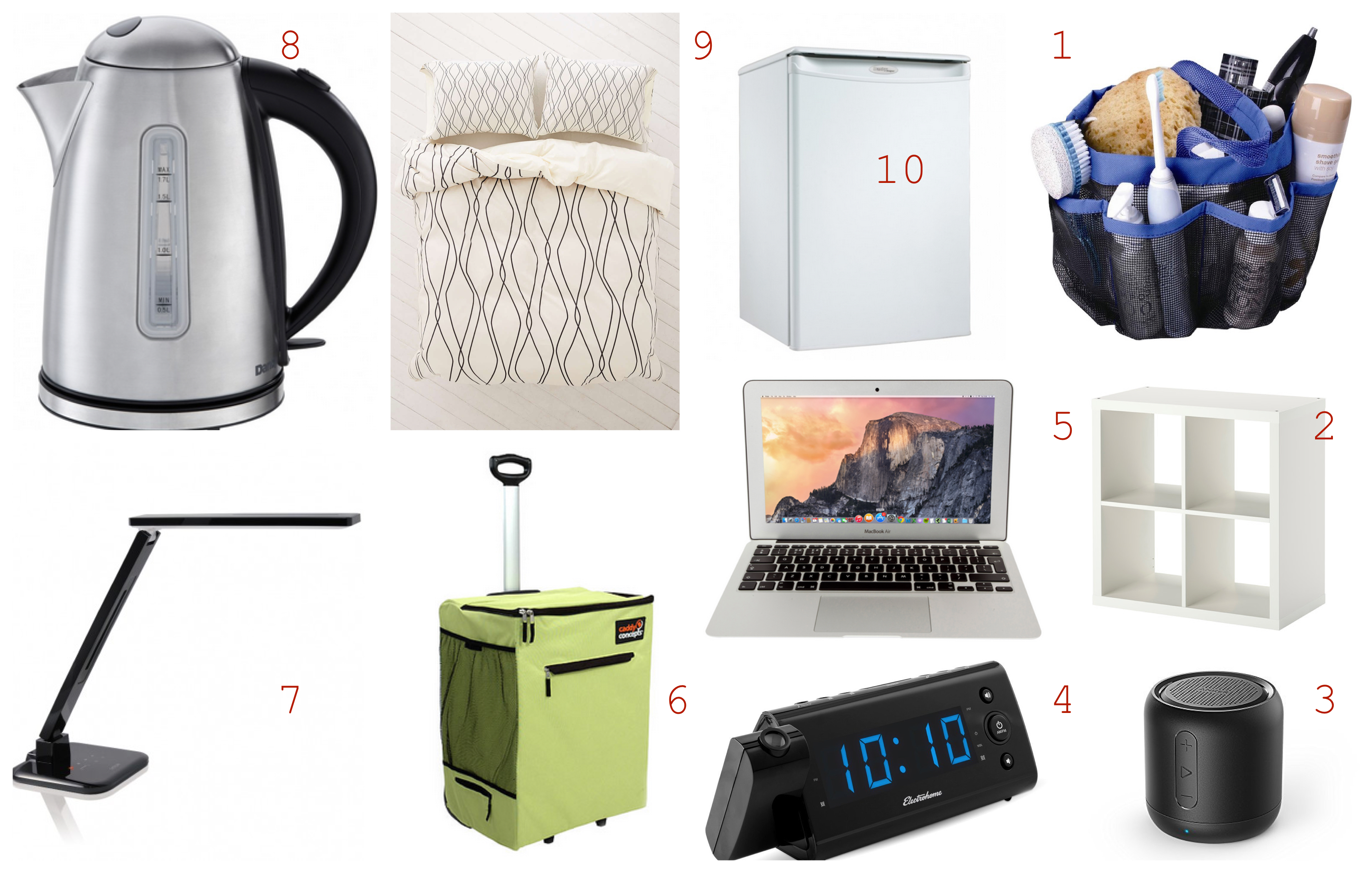 College Dorm Must Haves