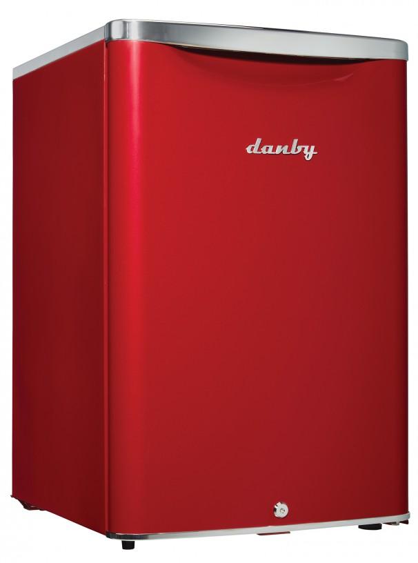 Réfrigérateur compact classique contemporain Danby 2,6 pi3 - DAR026A2LDB