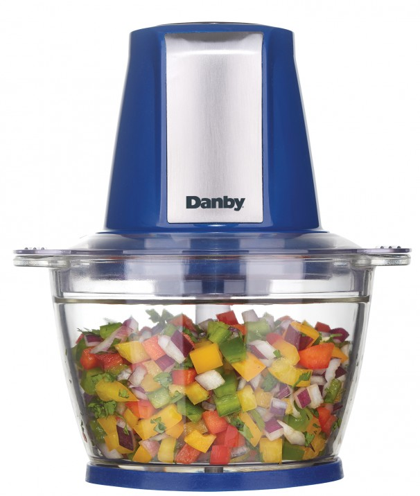 Danby 4 Cup Food Chopper - DFC40C1SSDB