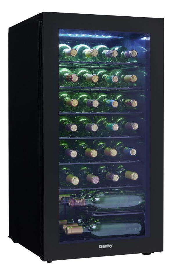 Danby 36 Bottles Storage Wine Cooler - DWC032A2BDB