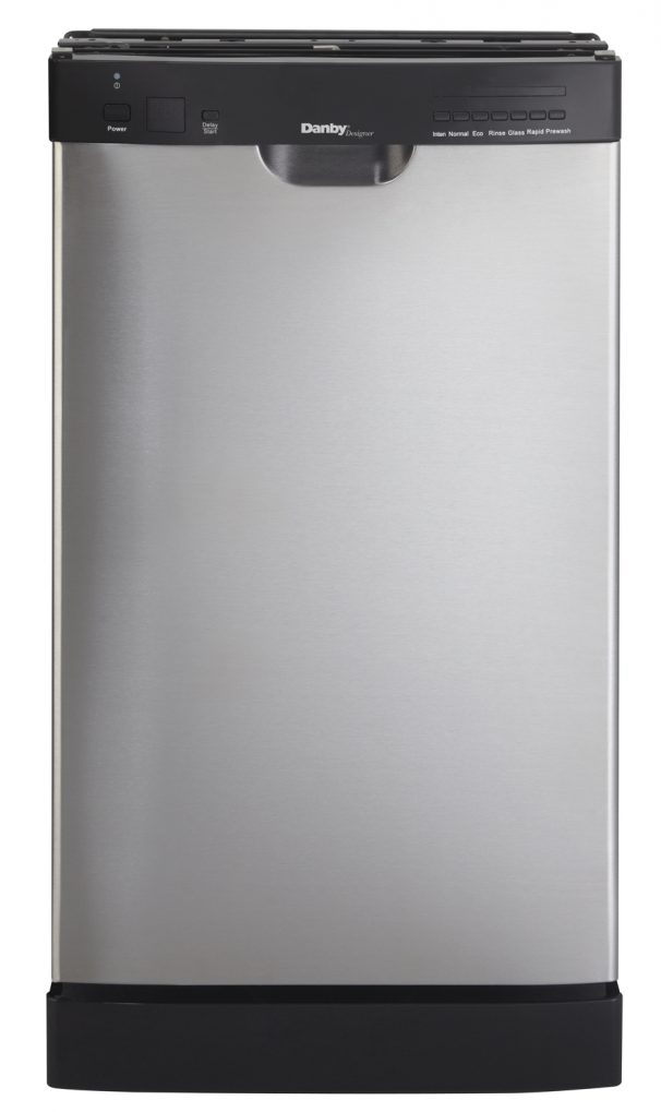 Danby Designer 8 Place Setting Dishwasher - DDW1802EBLS