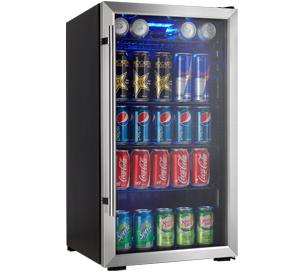 Danby Designer 120 Canette Refroidisseurs de boisson - DBC93BLSDD
