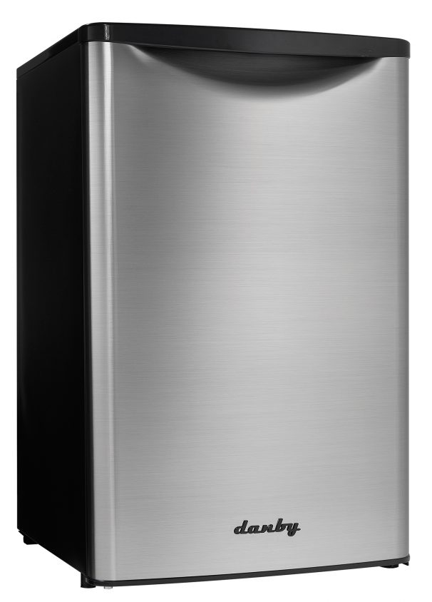 Danby Refrigerador compacto de 4.4 pies cúbicos - DAR044XA6BSLDB