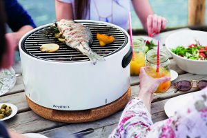 BergHOFF Portable BBQ white