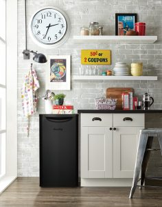Black Danby Contemporary Classic 3.3 compact refrigerator