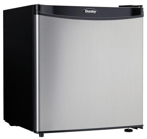 Danby Refrigerador compacto de 1.6 pies cubicos - DCR016XA4BSLDB