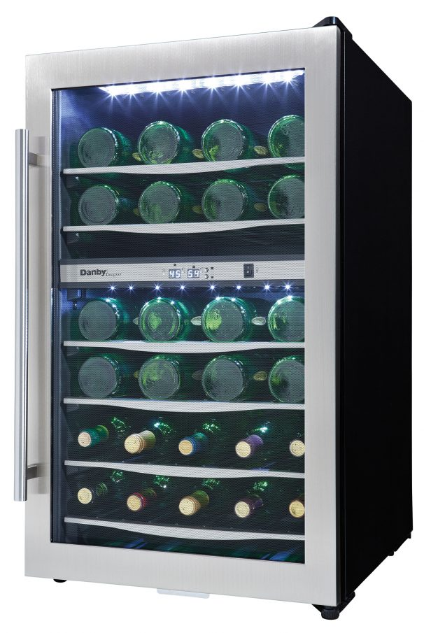 Dwc040a3bssdd Danby Designer 38 Bottle Wine Cooler En Us