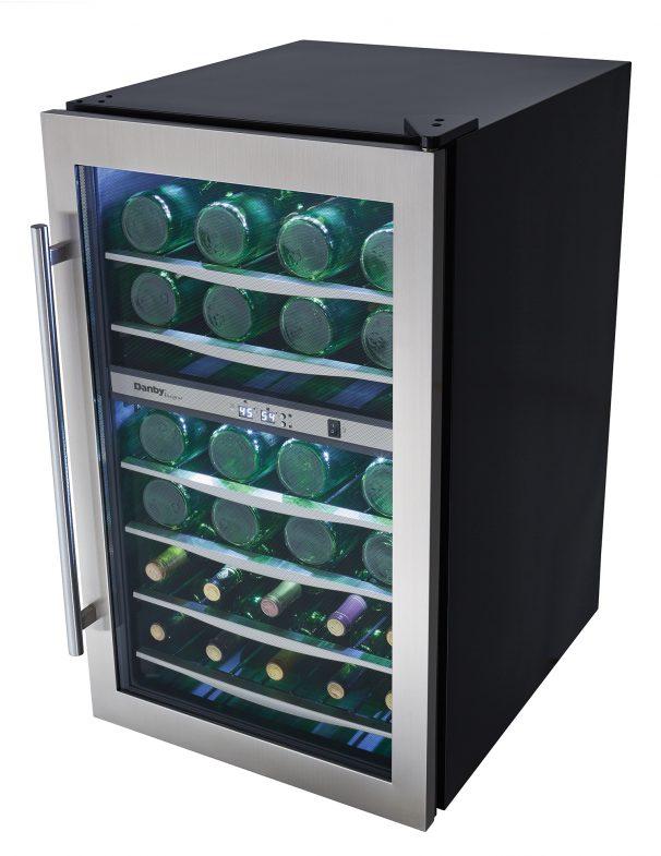 Dwc040a3bssdd Danby Designer 38 Bottle Wine Cooler En Us