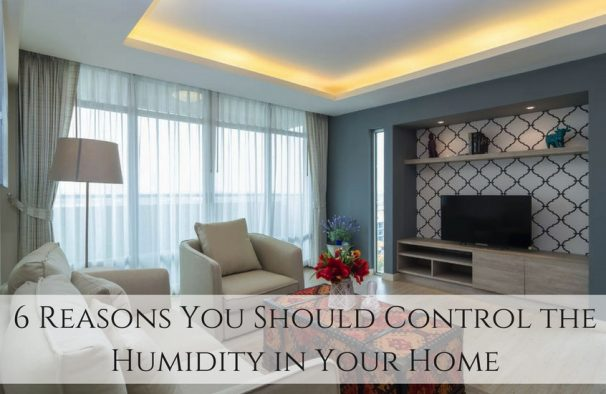 6 Reasons You Should Control the Humidity in Your Home