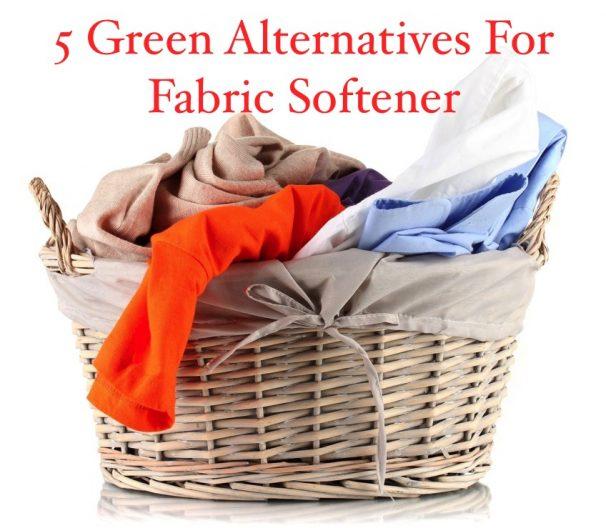 5 Green Alternatives For Fabric Softener