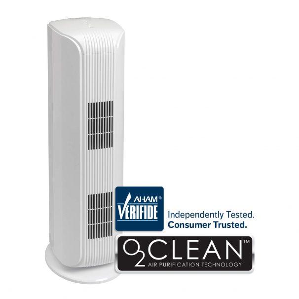 Danby HEPA Filter Tower Air Purifier With UV-C Light- White - DAP120BBWDB
