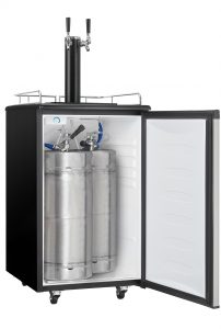 5.4 cu. ft. Dual Tap Kegerator Features
