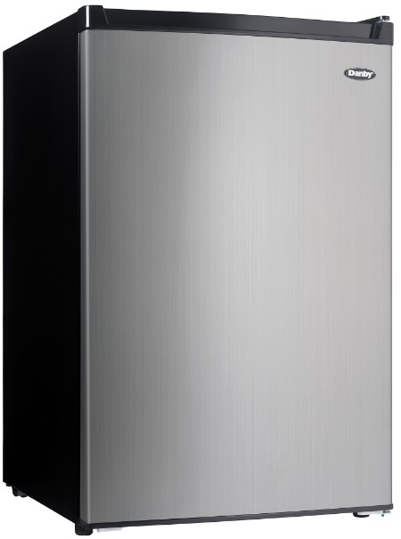 Danby 4.5 cu. ft. Compact Refrigerator with True Freezer - DCR045B1BSLDB-3