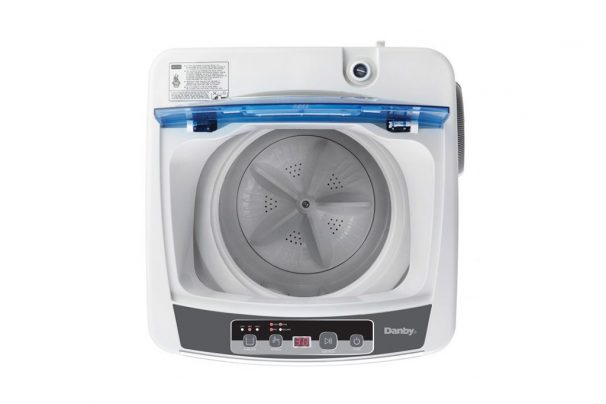 clean inside portable washing machine