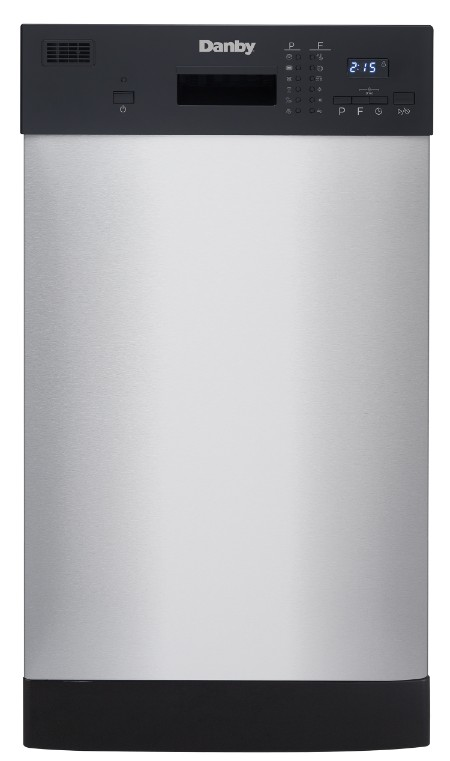 "Danby 18"" Stainless Built-In Dishwasher - DDW1804EBSS"