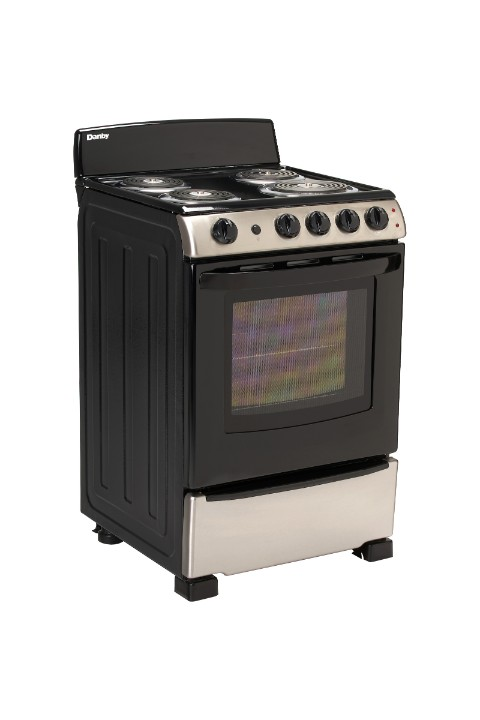 Danby 24″ Free Standing Electric Coil Range - DER244BSSC