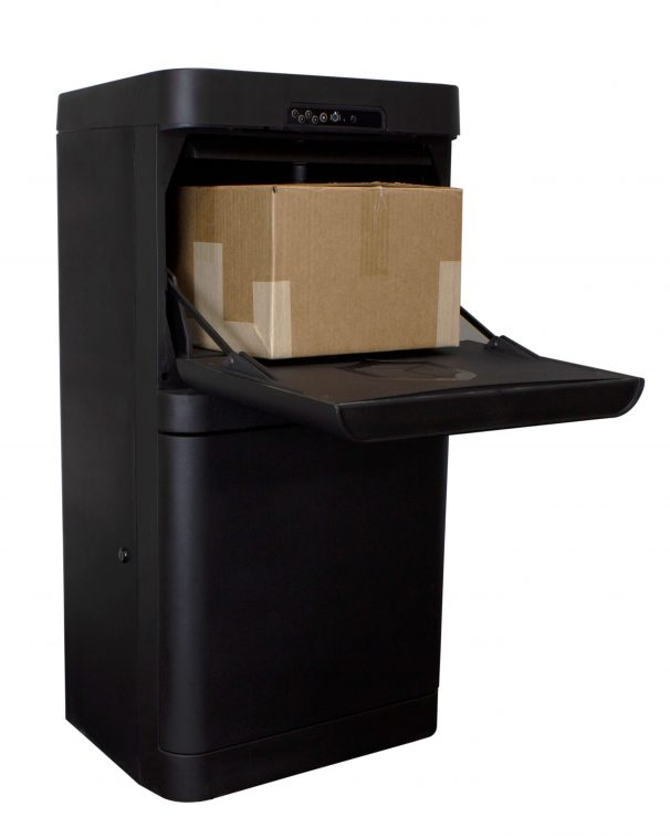 Parcel Guard: The Smart Mailbox (Black) - DPG37B