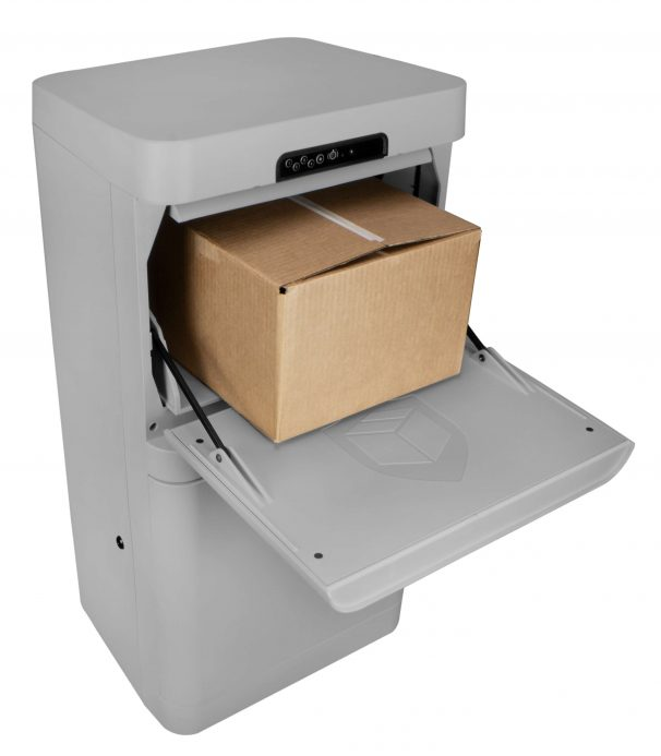 Parcel Guard: The Smart Mailbox (Grey) - DPG37G